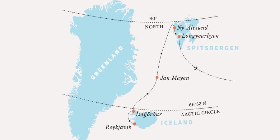 Арктический круиз из Исландии в Шпицберген