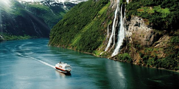 Классический круиз с юга на север Норвегии