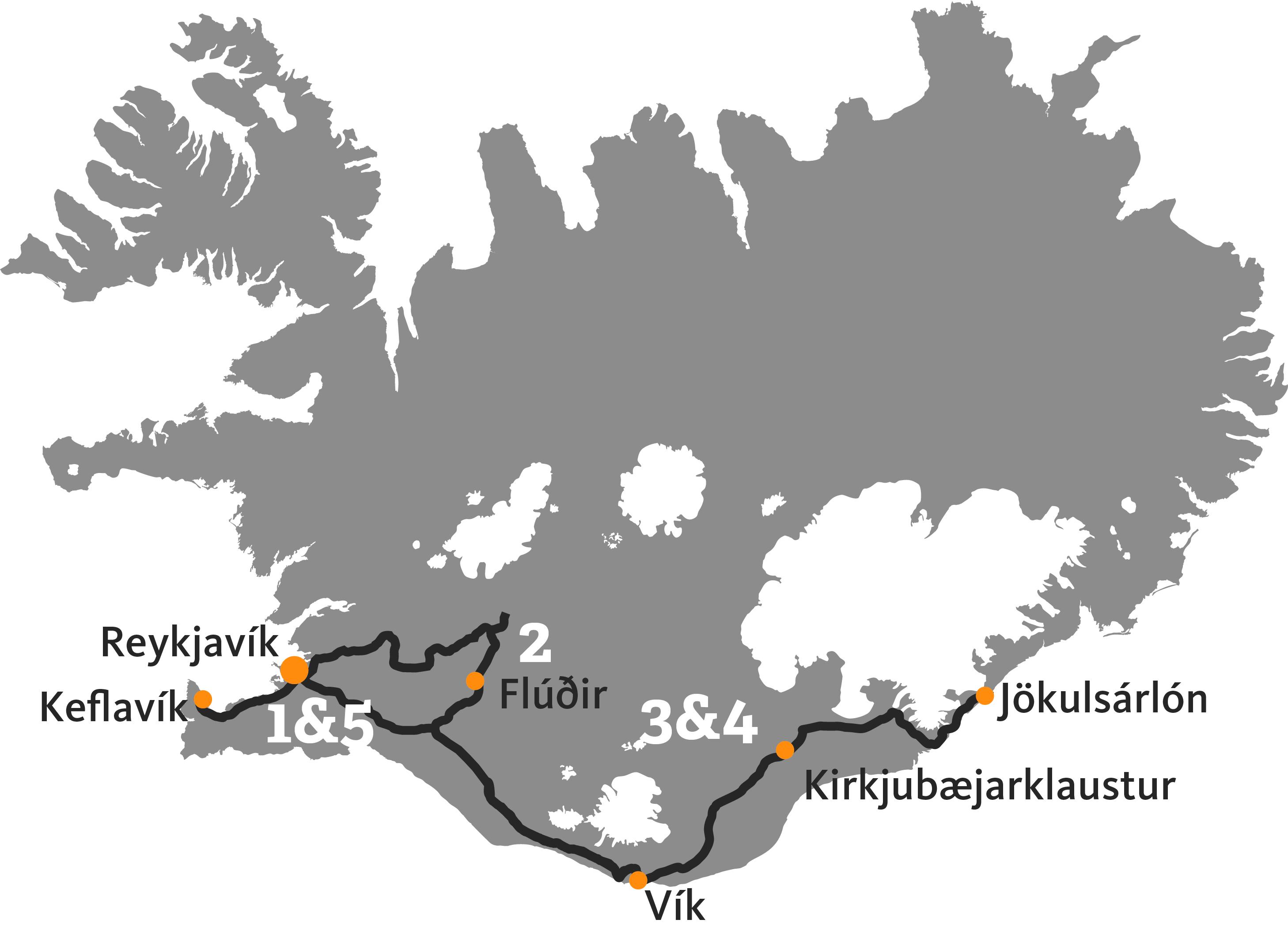 Индивидуальный тур по ледникам Исландии