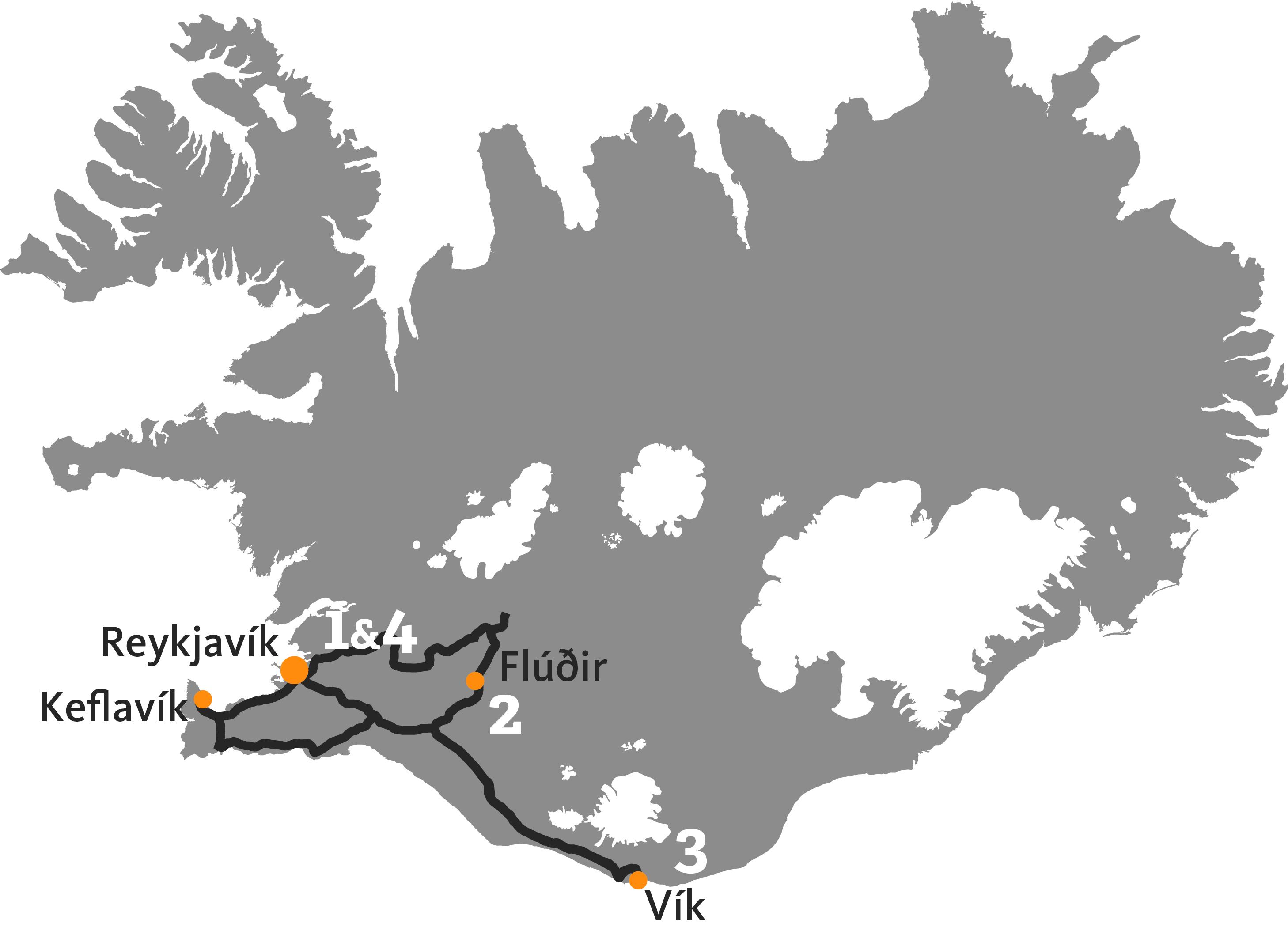 Визначні місця Ісландії (індивідуальний тур)