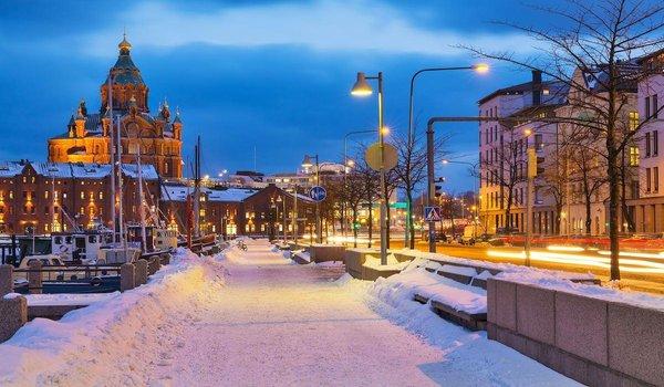 Тур в Лапландию, Хельсинки и Стокгольм