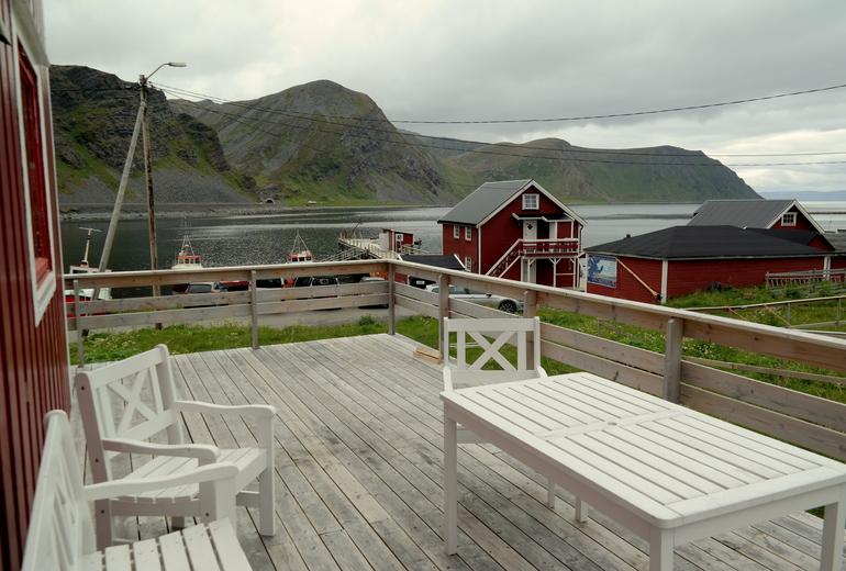 Трофейна рибалка в Північній Норвегії на острові Магерьоя