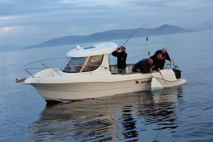 Рыбалка на Севере Норвегии (Торсваг)