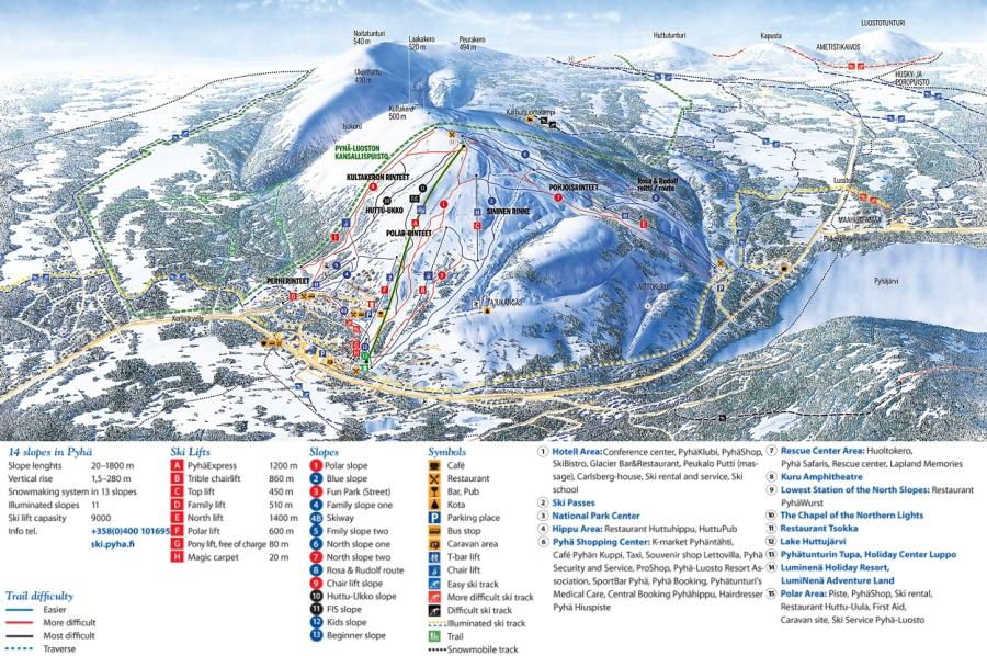 Тур на гірськолижний курорт Пюхя