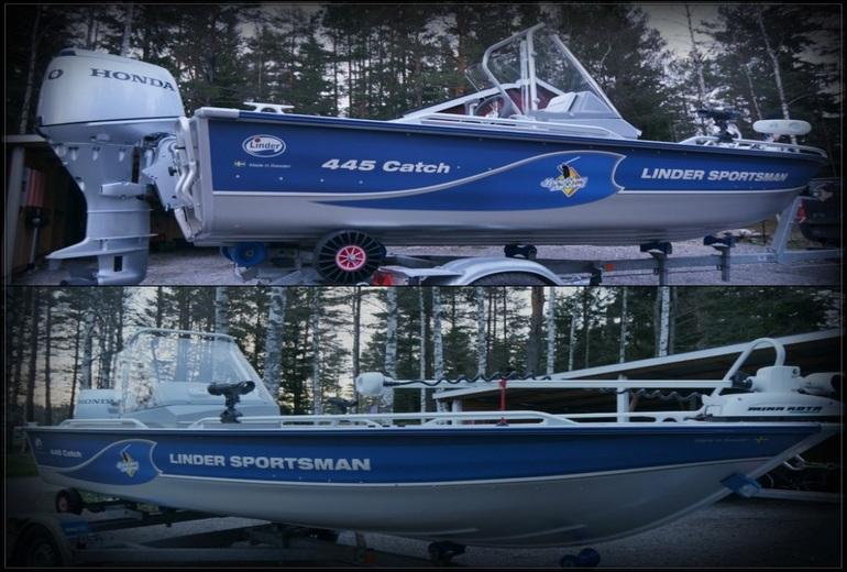 Рибалка на озері Венерн в Швеції