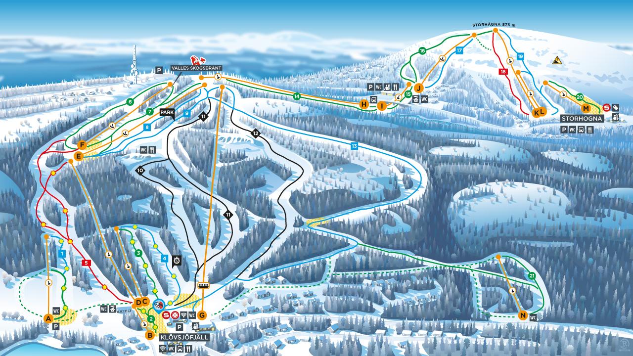 Тур на гірськолижний курорт Вемдален